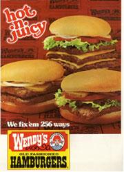 Wendy's hot n juicy