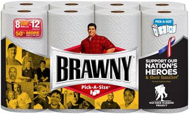 Brawny Paper Towel 12 big roll