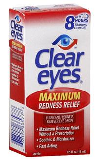 Clear Eyes box