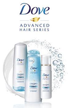 Dove Oxygen Moisture Hair Care
