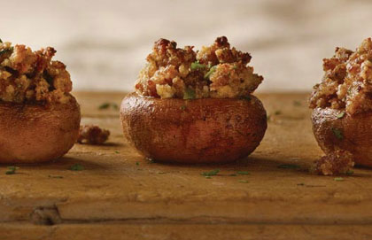 Sausage Stuffed Mushrooms