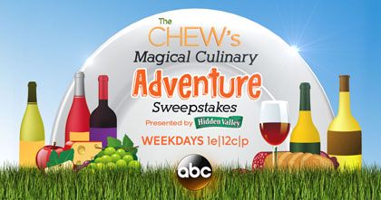 ABC The Chew's Magical Culinary Adventure Sweepstakes
