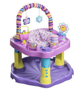Amazon Deal: Evenflo Exersaucer Bounce and Learn $16.03 (Reg $59.99)