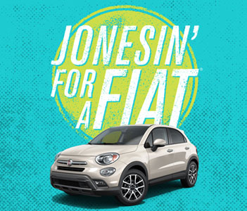 Jones Soda: Win a Fiat 500X car and a Year Supply of Soda