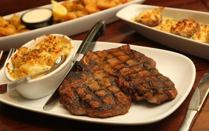 Longhorn Steakhouse: $5.00 Off Two Adult Dinner Entrees Coupon
