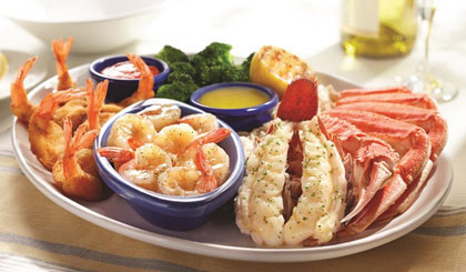 Red Lobster: $4 off Two Adult Entrees and More