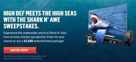 Discovery Shark N' Awe Sweepstakes