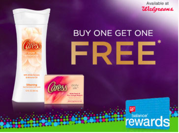 Walgreens: Buy 1 Get 1 Free Caress Body Wash or Bar Soap