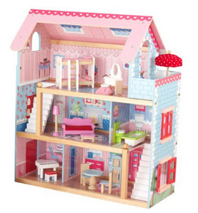Amazon Deal: KidKraft Chelsea Doll Cottage with Furniture Only $53.99 Shipped!