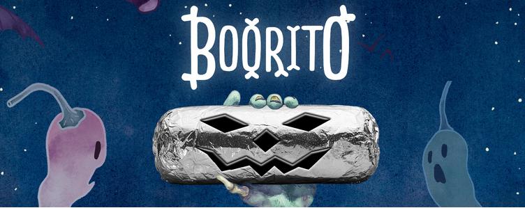 Chipotle: $3 Burrito, Bowl, Salad OR Tacos on Halloween!
