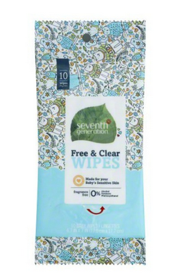 Target: Free Seventh Generation Wipes!