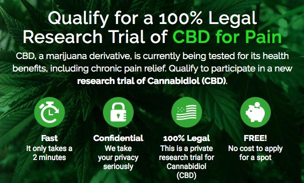 Free CBD For Pain (100% Free & Legal)!