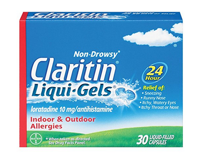 Non-Drowsy Claritin Liqui-Gels $4.00 off coupon (30 count or larger)