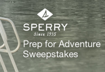 West Marine Sperry Prep for the Weekend Sweepstakes