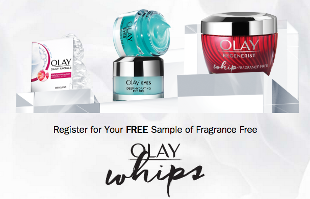FREE Sample of OLAY Whips!