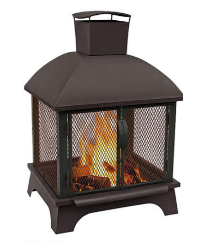 Win a Landmann Redford Outdoor Fireplace!